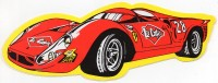 Autocollant Lee Cooper Ferrari - Stickers