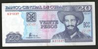 CUBA 2001 - BANCONOTA 20 PESOS QFDT