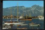 P2613 MARINA DI CARRARA ( Frazione Di Massa, MS ) Porto Con Veduta Delle Alpi Apuane - Navi Ship Bateau Nave - Massa