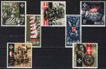 MALTA - 1965 - 4° CENTENARIO DEL GRANDE ASSEDIO DEI TURCHI - NUOVI MNH - Malta