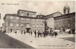 Marche-pesaro-cagli Piazza Vittorio Emanuele Animata Veduta Primissimi 900 - Italia