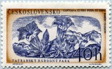 N° Yvert 924 - Timbre De Tchécoslovaquie (1957) - MNH - Gentiane (JS) - Czechoslovakia