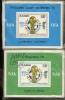 100 X Blocs** Zaire Coupe Du Monde 1978     Scott 880  881  MNH  Cote 50$x100= 5000 $ - World Cup