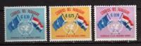 Paraguay **- 1960 - Anniversaire Des Nations Unies.  Yvert. 585-6-7 . MNH. NEUF.    Vedi Descrizione - Paraguay