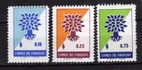 Paraguay **- 1961 - Année Mondiale Du Réfugié.  Yvert. 631-32-34 . MNH. NEUF.    Vedi Descrizione - Paraguay
