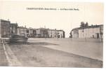CPA LA PLACE COTE NORD CARTE PAS COURANTE CHAMPDENIERS 79 DEUX SEVRES - Champdeniers Saint Denis