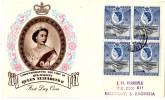 FDC From Kenya (28.05.1954) Pour Salisbury_QII - Kenya, Ouganda & Tanganyika