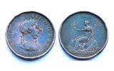Penny 1806 Grande Bretagne. Georges III°. Cuivre - 1662-1816 : Anciennes Frappes Fin XVII° - Début XIX° S.