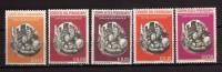 Paraguay **- 1963 - Fusées Et Satellites.  Yvert. 714à718 . MNH. NEUF.    Vedi Descrizione - Paraguay