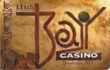 The Bay Casino - Bozeman, MT - BLANK Sample Lot Card   ...[RSC][MSC]... - Casino Cards