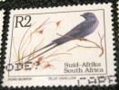 South Africa 1993 Hirundo Atrocaerulea Blue Swallow Bird 2r - Used - Used Stamps