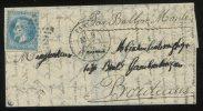 """Ballon mont� """"Le Washington ou Le Louis Blanc"""" 9 octobre 1870 de Paris pour Bordeaux"""