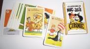 JEU DE CARTES DES 7 FAMILLES LES AVENTURES DE MARC ET JULIE CIRQUE - Cartes à Jouer