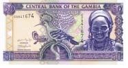 Gambia - Pick 23a - 50 Dalasis 2001 - Unc - Gambia