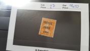 LOT 281168 TIMBRE DE FRANCE OBLITERE N�27 VALEUR 450 EUROS