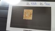 LOT 281169 TIMBRE DE FRANCE OBLITERE N�43B VALEUR 100 EUROS
