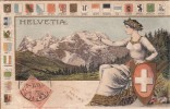 SUISSE 1917  C.P. GENEVE POUR ITALIE / 6092 - Suisse