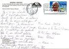 USA. Carte Postale Ayant Circulé En 1992. Superbe Oblitération : Dinosaure. - Préhistoriques