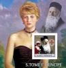 S. Tomè 2003, Lady Diana, Henry Dunandt, BF IMPERFORATED - São Tomé Und Príncipe