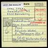 A3516) Bund Paketkarte Von Nürnberg 14.5.85 Mit Postfreistempel - Briefe U. Dokumente