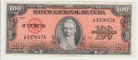 Cuba 100 Peso 1959 Pick 93 UNC - Cuba