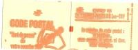 LCH - FRANCE CARNET TYPE SABINE 1f VERT CARNET DE 20 GOMME BRILLANTE - VARIETE COUVERTURE IMPRESSION GRASSE - Markenheftchen