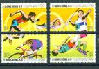 Hongkong, 1992, 645/48, Olympische Sommerspiele, Summer Olympics Barcelona, MNH ** - Hong Kong (...-1997)