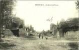 """Ferrières Intérieur De Ferme (2 Scans) Ruines :, Voyagé 1919  """"tout Est Démoli""""- Le Deley - Frankrijk"""
