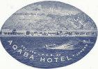 EH 181 / ETIQUETTE D´HOTEL  BAGAGE HOTEL - Hotel Labels