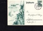 """DR 33 Bis 45: GS-Karte 6+4 Pfg  """"WHW 1937""""  Gebraucht, Coswig (Anh)  23.11.37 Knr: P 266 - Deutschland"""