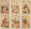 Liebig 1895 Sanguinetti N. 441 € 240 Circo Equestre III° (Kleine Circuswelt) (Germania)- Bella Riproduzione - Liebig