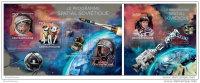 CENTRAL AFRICA 2014 ** 2 S/S Soviet Space Program Sowjetisches Raumfahrtprogramm Programme Spatial Soviétique A1504 - Spazio