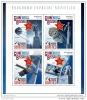 GUINEA BISSAU 2014 ** S/S 4v Soviet Space Programm Russisches Raumfahrt Programm Programme Spatial Soviétique A1503 - Spazio