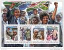 GUINEA BISSAU 2015 ** M/S Nelson Mandela - Liberation Befreiung Libération  A1508 - Famous People