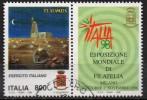"""PIA - ITALIA  - 1998   :  Esp. Mondiale Di Filatelia """"Italia ´98"""" - Giornata Delle Forze Armate    -  (SAS  2373) - 1946-.. République"""