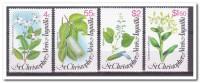 St. Christopher Nevis Anguilla 1980, Postfris MNH, Flowers, Plants - St.Kitts En Nevis ( 1983-...)