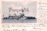 Marine De Guerre Militaire Française - Le Brennus - Cuirassé à Tourelles - 1902 - 2 SCANS - Warships