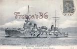 Marine De Guerre Militaire Française - Le Patrie Cuirassé à Tourelles De Ier Rang - 2 SCANS - Oorlog