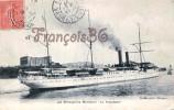 Messageries Maritimes - Le Polynésien - 2 SCANS - Remorqueurs