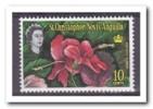 St. Christopher Nevis Anguilla 1963, Postfris MNH, Flowers - St.Kitts En Nevis ( 1983-...)