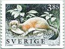 N° Yvert 1907A - Timbre De Suède (1996) - MNH - Hermine (JS) - Neufs