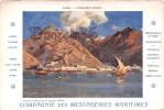 Compagnie Des Messageries Maritimes - Aden - Steamer Point - 2 SCANS - Yémen