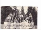 25078 Carte Photo- Tréganteur Canada Quebec - Couvent Sainte Thècle école Enfant 1922 -religieuse Bonne Soeur