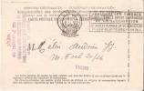 HOLLOGNE-AUX-PIERRES (4460) - PERCEPTION DES IMPÖTS : Carte Postale De Service Du Contrôle Des Contributions. CPA. - Grâce-Hollogne