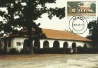 South Africa-Transkei 1984 Post Offices, Qumbu, Maximum Card - Transkei