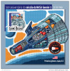 GUINEA BISSAU 2015 ** S/S NASA Mission Gemini 3 Space Raumfahrt Espace F1515 - Space
