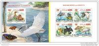 MALDIVES 2014 ** 2 S/S Wading Birds &amp Amp  Insects Watvögel &amp Amp  Insekten Échassiers &amp Amp  Insecte - Sonstige