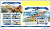 MALDIVES 2015 ** M/S + S/S Pioneers Of Aviation Pioniere Der Luftfahrt Pionniers De L'aviation A1509 - Vliegtuigen
