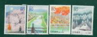 Japan å¹´ 2000 R432--35 Kyoto: 4 Full Seasons - 1989-... Imperatore Akihito (Periodo Heisei)