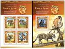MALDIVES 2015 ** Puma & Jaguar Big Cats Raubkatzen M/S + S/S - OFFICIAL ISSUE - A1535 - Raubkatzen